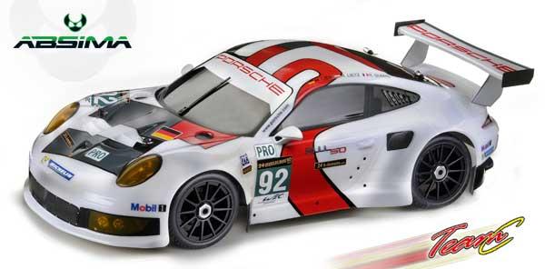 Absima/TeamC Porsche 911 RSR GR8LE 4WD RTR BL