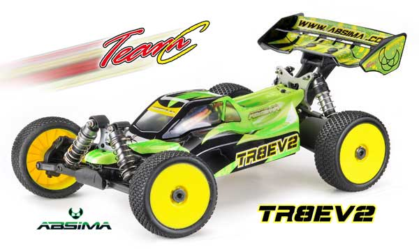 Absima/TeamC TR8EV2 4WD Brushless Buggy