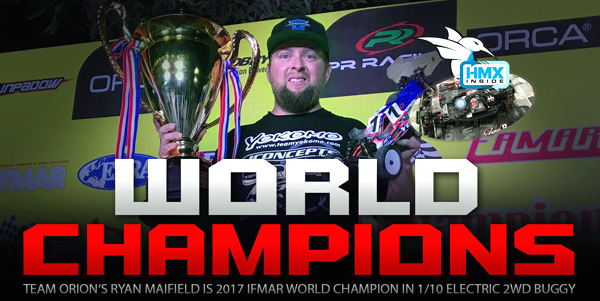 Absima Team Orion R.Maifield 2WD World Champion´17