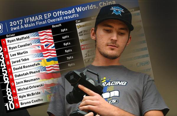Absima HB Racing D.Ronnefalk P.5 bei IFMAR WM