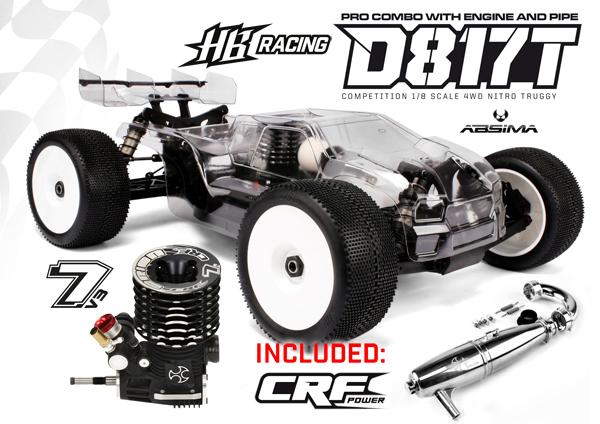 Absima HB Racing D817T Pro Combo