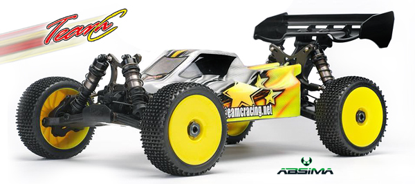 Absima/TeamC TeamC TM8E 1/8t E-Buggy kit