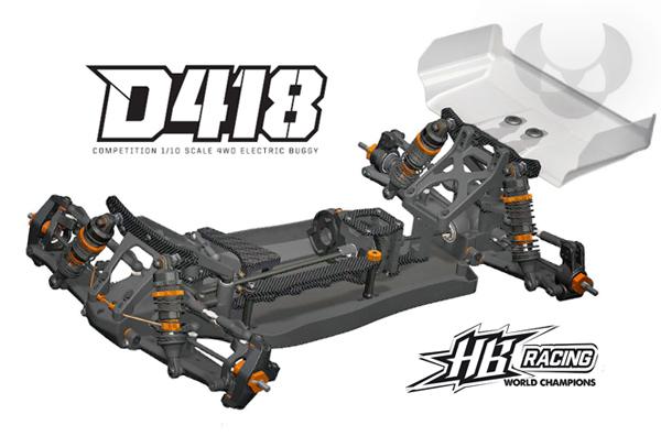 Absima HB Racing HB Racing D418 coming soon