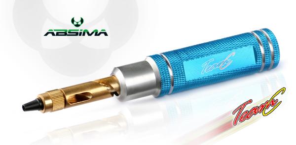 Absima/TeamC TC0812 Reifenlocher, blau
