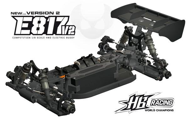Absima HB Racing HB Racing E817 V2 coming soon