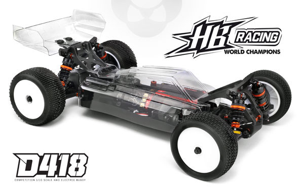 Absima HB Racing HB Racing D418 1/10 4WD Buggy