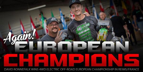 Absima HB Racing D. Ronnefalk ist 4WD Europameister