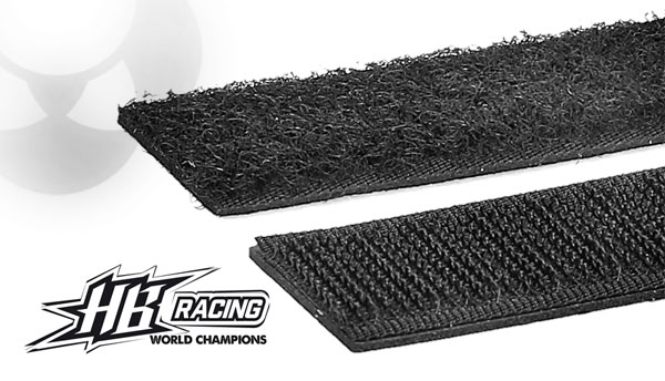 Absima HB Racing HB Racing Klettband 20x200mm