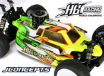 Absima HB Racing Silencer Lightweight Karo für HB