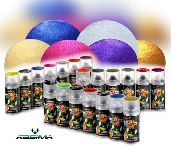 Absima Neue ABSIMA Paintz Farben