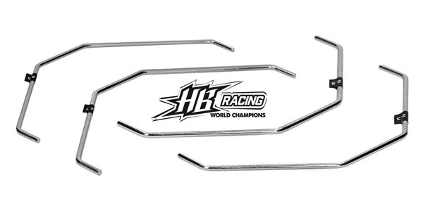 Absima HB Racing 1/8 Stabilisator Sets für D817V2 ....