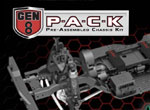 Absima Redcat Gen8 PACK Chassis Kit