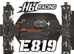 Absima HB Racing HB Racing E819 1/8 E-Buggy