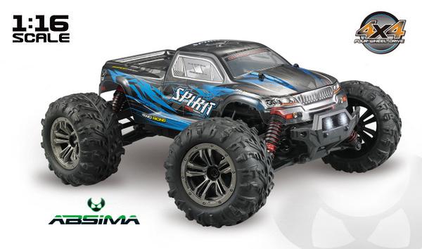 Absima EP Monster Truck SPIRIT 1:16 RTR