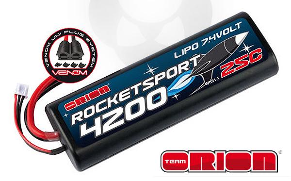 Absima Team Orion Rocket Sport 4200 LiPo 7,4V