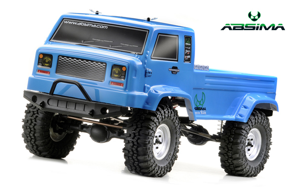 Absima Crawler Karosserie (Blau) 1:10