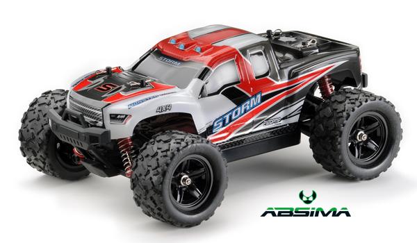 Absima 1/18 High Speed Monster Truck STORM