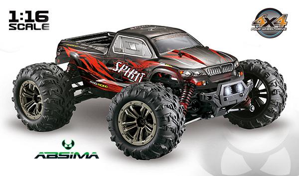 Absima 1/16 High Speed Monster Truck SPIRIT