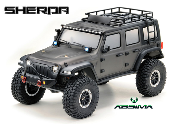Absima EP Crawler CR3.4 ´SHERPA´ 1:10 grau
