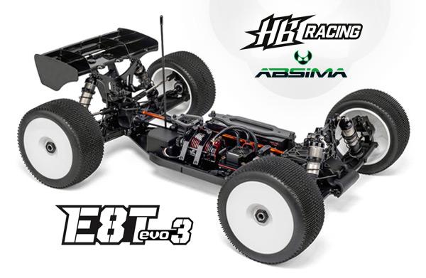 Absima HB Racing HB E8T EVO3 1/8 TRUGGY
