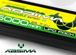 Absima LiPo 7.4V-25C 5000 Hardcase (TAM-Plug)