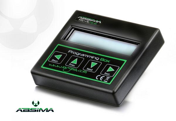 Absima Programmbox für´Revenge CTS V3.1