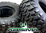 Absima Crawler Reifenset 1.9