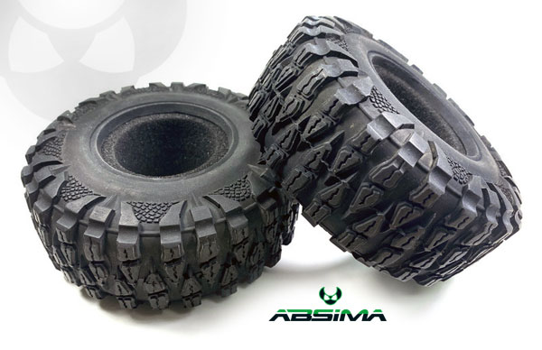 Absima Crawler Reifenset 2.2