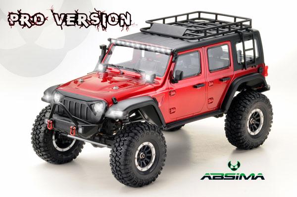 Absima CR3.4 ´SHERPA-PRO Metallic Rot RTR