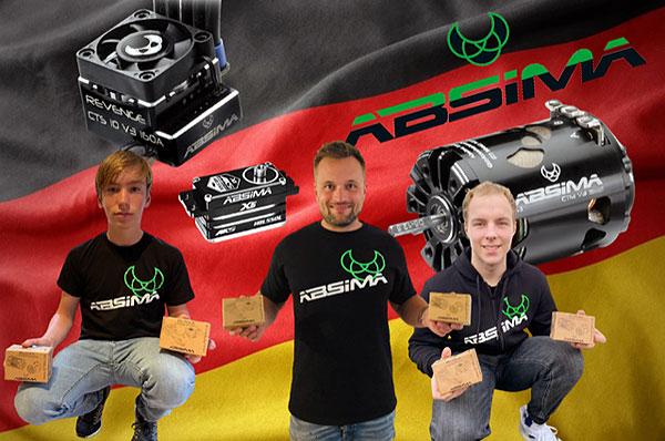 Absima Team Absima wird 5x Deutscher Meister!