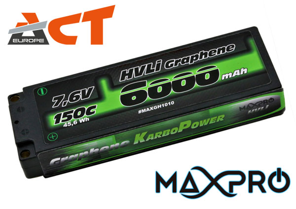 ACT Europe MaxPro Lipo Car Graphene HV LiPo