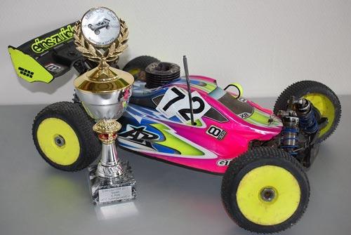 Ansmann Racing Wieder Podium für X8