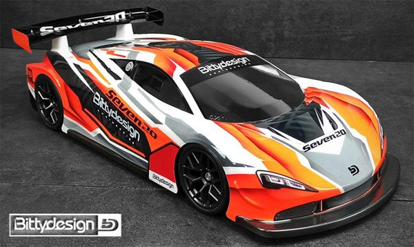 Bittydesign Seven20 190mm GT Karosserie