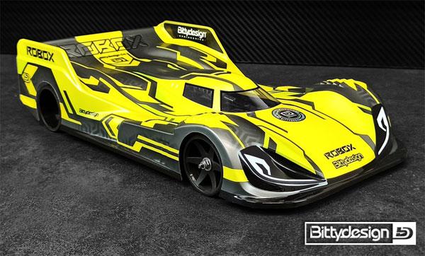 Bittydesign Robox 1/12 Pan-Car Karosserie