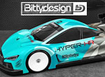 Bittydesign HYPER-HR 1/10 TC 190mm Karo