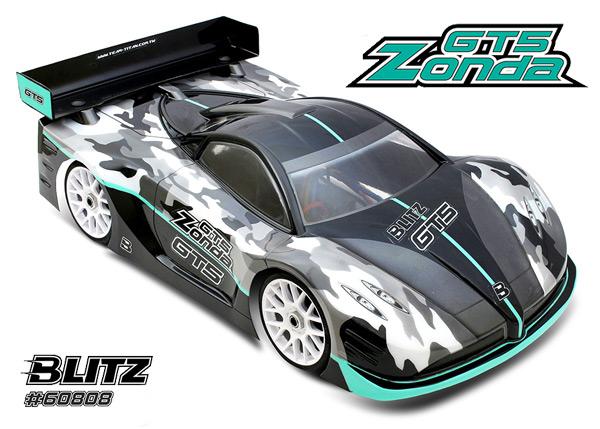 Blitz Blitz GT5 Zonda 1/8 GT Karosserie