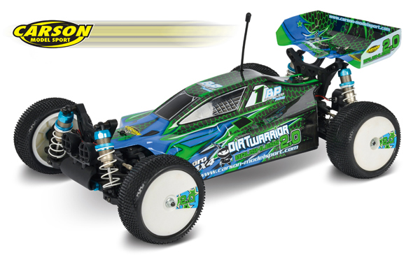 Carson Model Sport Dirt Warrior BL 2.0 RTR
