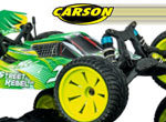 Carson Model Sport X10 2WD Street Rebel 100% RTR