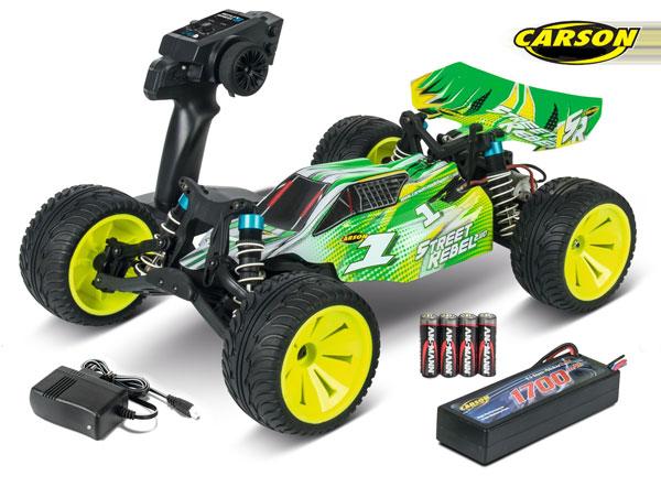 Carson Model Sport X10 2WD Street Rebel 100% RTR