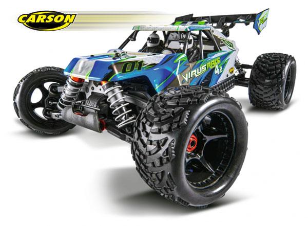 Carson Model Sport Virus Race 4.2 4S BL 100% RTR