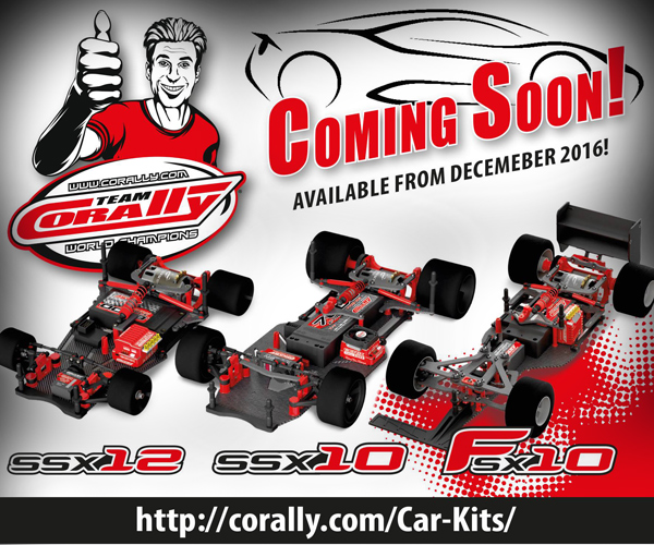 Team Corally TC Chassis-Kits coming soon!
