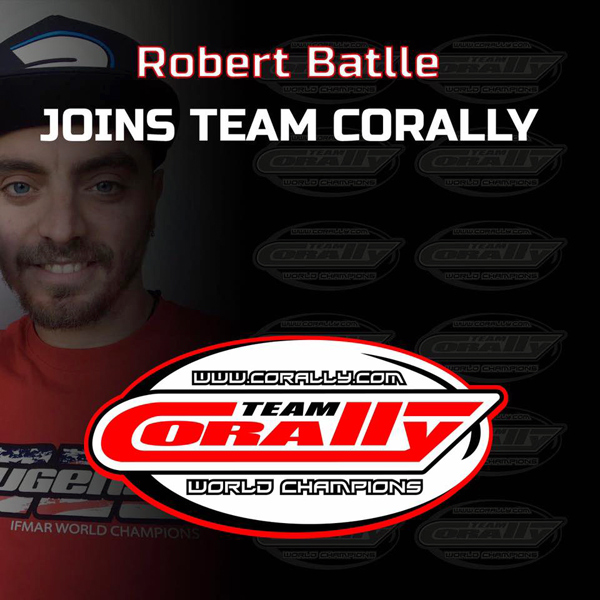 Team Corally Robert Battle join Team Corally