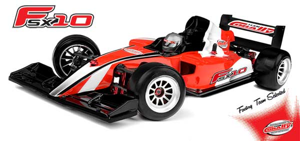Team Corally Formula-Chassis FSX10