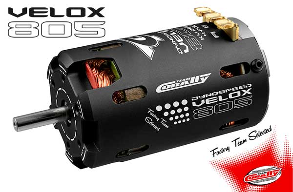 Team Corally TC VELOX 805 4-Pol BL Motoren