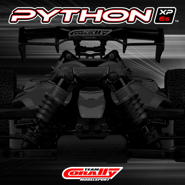 Team Corally PYTHON XP 6S coming soon