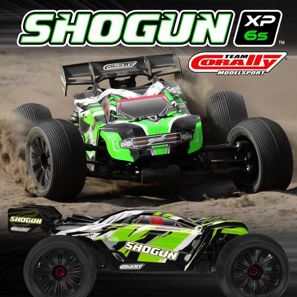 Team Corally SHOGUN XP 6S Renntruggy