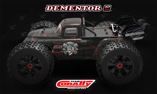 Team Corally Dementor XP 6S 1/8 Stunt Truck