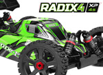 Team Corally Radix4 XP 4S 1/8 EP Buggy