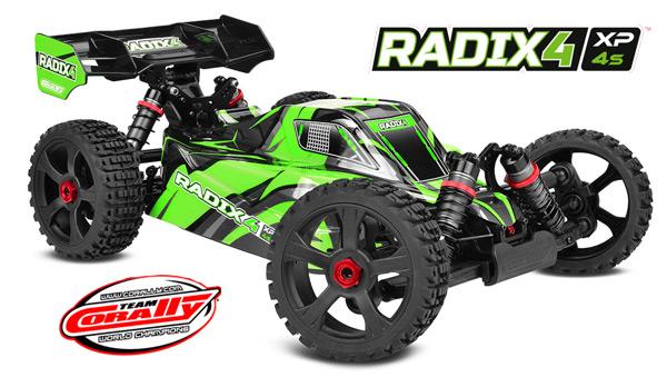 Team Corally Radix4 XP 4S 1/8 EP Buggy