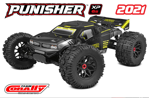 Team Corally Punisher XP 6S Monster Truck
